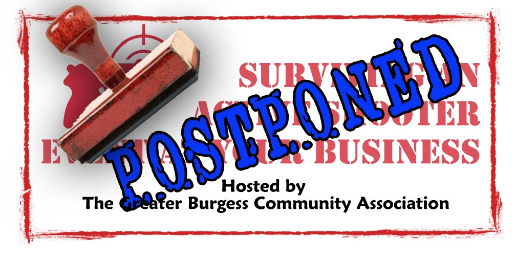 Postponed: An exclusive seminar for Burgess businesses and their employees/staff.